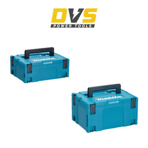 Makita MAKPAC Type 2 & MAKPAC Type 3 Double Carry Case Pack
