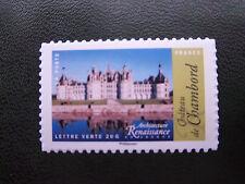 timbres autocollants France / Château de Chambord autoadhésif