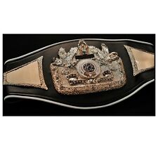 IBC International Boxing council Championship replica belt adult metal plates