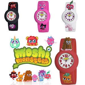 Moshi Monsters Kids Watch Wrist Charm Interchangeable Strap Silicone Boys Girls