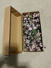 Box of artificial flowers - NEW