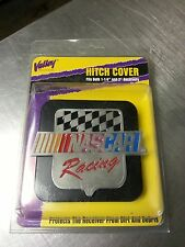 """NASCAR truck hitch receiver cover new in package fits 1 1/4"""" and 2"""""""
