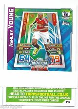 2015 / 2016 EPL Match Attax Live (P16) Ashley YOUNG Manchester United