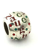 Brighton Naughty and Nice Bead, Silver Finish, J97172, New