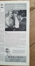 1946 Rock of Ages Barre By glad talked it over burial monuments ad