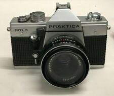 Praktica MTL3 35mm Camera with Carl Zeiss Jena Lens