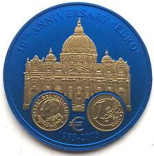 Liberia 2005 Basilica di San Pietro in Vatican 5 Dollars Niobium Coin,BU