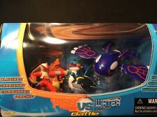 Pokemon Fire Type VS Water Type Battle SET Hasbro EXTREMELY RARE