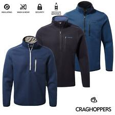 Crahoppers Mens Etna Half Zip Fleece Casual Sweater Jumper Pullover Chest Pocket