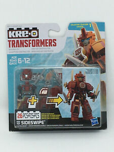 Hasbro Kre-o Transformers 26 Piece Building Toy - Sidewipe - New