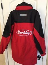 Berkley Rod Line Bait Heavy Duty Fishing Coat - Red Size Men's Small