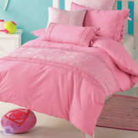 Pixie Patch Duvet Doona Quilt Cover Set | Hiccups | 225TC | Embroidered | Double