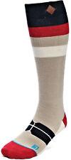 Calze Uomo Stance Grigio Snowboard Merino Wool Medium Cushion Socks Men Burbank