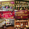 16inch Multicolor Foil Letter Balloons Happy Birthday Shaped Ballons Part