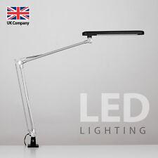MiniSun Black Adjustable Neck Clip On LED Reading Table Desk Lamp Lighting