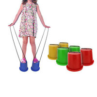 Dosen Stelzen für Kinder, Topf-Stelzen Laufstelzen Outdoor Spielzeug, 1 Paar,