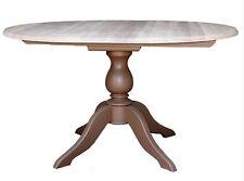 runder Esszimmertisch Esstisch Tisch  Massivholz Landhaus 120/160 cm ausziehbar