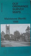 Old Ordnance Survey Map Detailed Maidstone North Kent  1866 Sheet 42.03 New Map