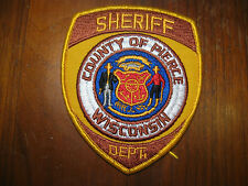 PIERCE COUNTY WISCONSIN SHERIFF/POLICE PATCH