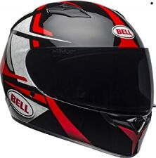 Bell Qualifier Full-Face Motorcycle Helmet (Flare Gloss Black/Red, Large)