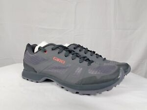 Giro Gauge Womens Bike Cycling Shoes Gray Red