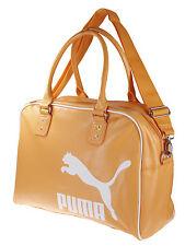 Puma Heritage Grip Bag Purse Handbag Messenger Bag, Orange