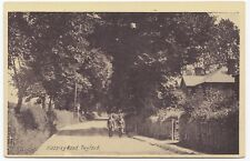 Berkshire; Hazeley Rd, Twyford PPC Unposted, c WW1, Note Soldiers Walking