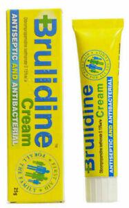 Brulidine 25g Antiseptic & Antibacterial Cream