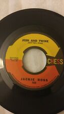 Jackie Ross: Jerk And Twine / New Lover / 45 Rpm / 1965 / Chess