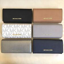 2df712c5037e ... wholesale new michael kors jet set saffiano leather pvc carryall wallet  various colors 5286e e3f4d