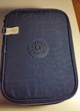 KIPLING 100 PENS Pencil Case Kipling Cold Blue AC3657-431 EUC