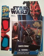 "Star Wars: 'Darth Maul' 2 of 12 {3-D Image} 3.75"" Action Figure & Battle Game"