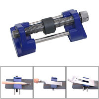 Metal Honing Guide Jig for Sharpening Wood Chisel Plane Iron Planers Blade#Blue#
