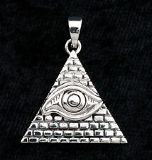 Pyramide Masonic Eye Illuminati yugioh YU GI OH MILLENIUM bague étain Pendentif