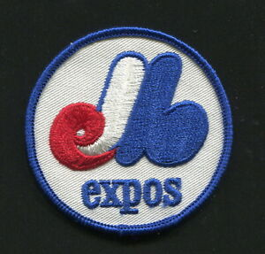 """Vintage 1969-1972 era MONTREAL EXPOS Logo Embroidered 3"""" Patch, NEW (16610)"""