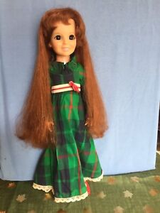 Vintage 1972 Ideal Movin' Groovin' Crissy Doll With Original Clothes