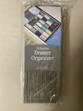 Gray 24 Section Sock/Accessory Drawer Organizer