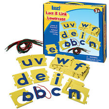 Lace & Link Lowercase learning activity