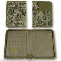 MILITARY MOLLE A5 FOLDER BTP MTP COMMANDERS ORDERS BOOK FOLDER ARMY CADET