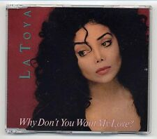 La toya jackson MAXI-CD why don 't you want my love? - German 4-track-BCM 20520