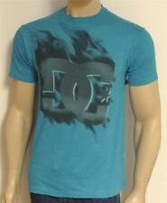 DC Shoes Cloud Tee Mens Blue 50/50 Heather T-Shirt New NWT
