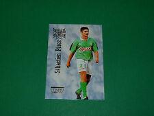 S. PEREZ FOOTBALL CARD PREMIUM 1994-1995 AS SAINT-ETIENNE ASSE VERTS PANINI