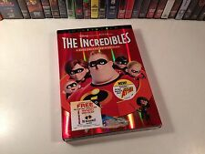 The Incredibles New Sealed Widescreen Collector's Family Animation Dvd 2004
