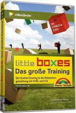 little boxes Das große Training HTML 5 & CSS3 Video-Training, DVD