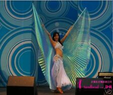 Belly Dance Costume ISIS WINGS Bauchtanz Schleier  L-Blue--10 Colours AVLBL