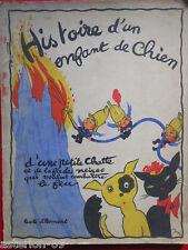 HISTOIRE D'UN ENFANT DE CHIEN:HENRI D'HOMONT TOURET1936