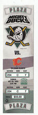 DUCKS VS FLAMES 1995 FULL TICKET STUB MINT 10/29/95 PAUL KARIYA 2 GOALS