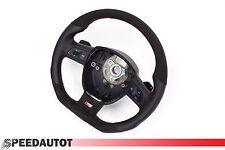 S-Line aplatie volant Multifun avec boutons balancent Alcantara Noir Audi a3