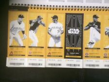 2017 Pittsburgh Pirates SEASON TICKET STOCK - See games available in listing