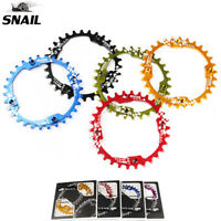 SNAIL 104BCD 30T MTB Bike Chainring Narrow Wide Round Chainwheel Sprocket US